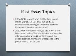 ppt  past essay topics
