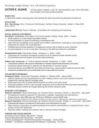 psychology resume examples how to write a book review trent university psychology professor