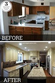 Small Kitchen Remodel Before And After Design