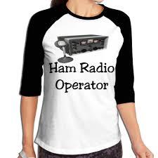 Ham Size Chart 3m9g8y 0 Womens 3 4 Sleeve Crew Neck T Shirts Ham Radio