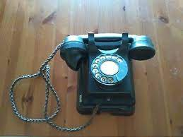 at e co wall mounted vintage telephone