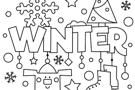 You can find lots of printable pages here to decorate and give to your snow bird on the winter solstice. Winter Puzzle Coloring Pages Free Printable Winter Themed Activity Pages For Kids Printables 30seconds Mom