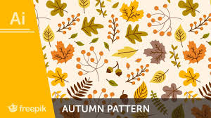 Fall Patterns Fascinating How To Create A Fall Pattern In Adobe Illustrator Alba Zapata