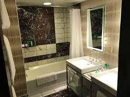 a typical contemporary bathroom