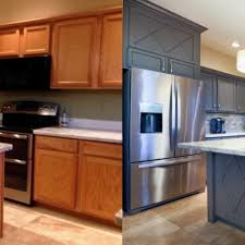 Kitchen Cabinet Refacing Phoenix Awesome Paint Kitchen Cabinets Before And After Lovely Painted Kitchen