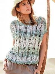Майки, топы, летние кофточки | Knits | Модные стили, <b>Вязаная</b> ...