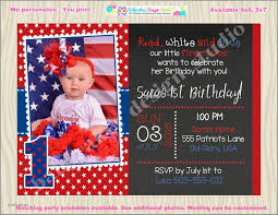 4th of july birthday invites luxury 4th of july birthday invitation invite july 4th birthday invitation