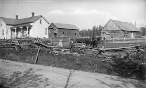 Farm Home of August Krueger | Photograph | Wisconsin Historical Society