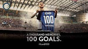 MAURO ICARDI | All 100 Inter Goals | #Icardi100 ⚽️⚫️🔵 - YouTube