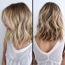Coiffure Femme Balayage Blond