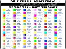 Acrylic Paint Conversion Chart Americana To Delta Ceramcoat Most Popular Folk Art Conversion Chart Delta Ceramcoat Paint