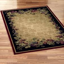 Red Rugs For Kitchen Kitchen Elegant Black Kitchen Area Rugs With Red Borderline And
