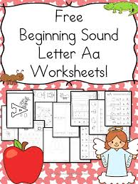 Beginning Sounds Letter A Worksheets – Free and Fun!