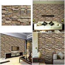 self adhesive 3d wall paper background wall sa 1007 simulation vein rock stone pattern
