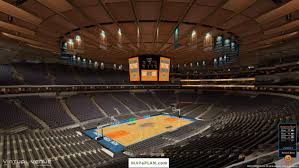 Msg Seating Chart Big East Tournament Madison Square Garden Seating Chart Detailed Seat Numbers