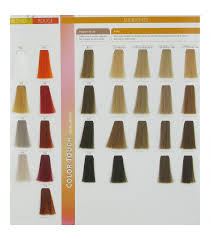Wella Color Touch Chart Wella Professionals Swatches Color Touch Wella Color Touch