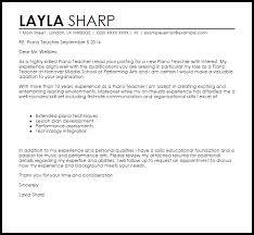 Awesome Collection Of Recommendation Letter Sample Piano Teacher For