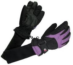 Snowstoppers Ripstop Nylon Gloves Purple
