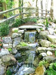 backyard pond waterfalls waterfall landscape waterfalls waterfall pond ideas garden pond waterfall designs backyard waterfall more