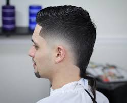 Hair Cuts Glamorous V Taper Mens Haircut Cut Shaped Back View