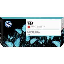 <b>HP 746 Designjet</b> Chromatic Red Ink Cartridge (300mL) P2V81A B&H