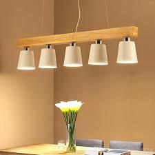 new modern simple wood pendant light 3 heads 5 black white shade metal hanging lamp fixture