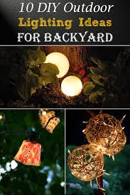 diy outdoor lighting. Your Outdoor Gatherings Don\u0027t Need To End When The Sun Goes Down. These Gorgeous Lighting Ideas Are Budget Friendly And Easy Set Up. Diy L