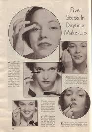 simple daytime makeup steps 1930s makeup tutorial makeup guides makeuplooks