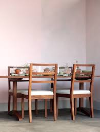 make this graphic glaze diy with colorhouse paint hue sprout 06 pink in a dining room