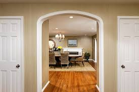 Overwhelming doorway ideas Arched doorway ideas dining room traditional  with chandelier