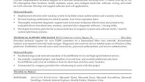 Technical Support Resume Noxdefense Com