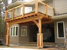 Post And Beam Deck Design Front Porch Beam Framing Details Yahoo Image Search