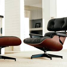Eames Leather Lounge Ottoman Original Chair And For Sale John Lewis. Eames  Lounge Chair Ottoman Sessel Vitra Chairs Plus.