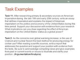 pa literacy design collaborative common core standards ppt  task examples