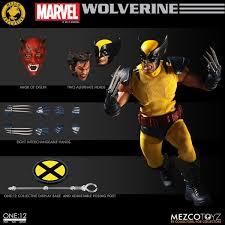 Mezco Toyz One:12 Collective Classic Wolverine -4ColorHeroes
