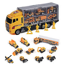 Toyard Toys for Boy and Girl, Toy Truck Car 11 in 1 Die Cast Engine Best Gifts 2 Year Old Boy: Amazon.com