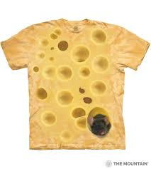 swiss cheese. Contemporary Swiss Swiss Cheese Mouse TShirt On