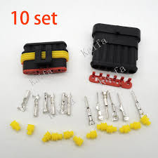 compare prices on 6 wire plug online shopping buy low price 6 10 sets kit 6 pin way waterproof electrical wire automotive connector plug for car registered