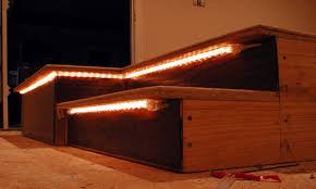 home theater step lighting. image of stair lighting home theater step