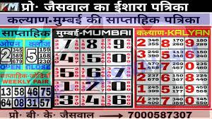 Kalyan Record Chart With Pana Bedowntowndaytona Com