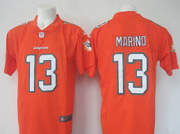Marino Jersey Discount Jerseys Football Orange Cheap Jerseys Nfl