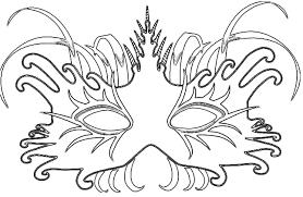 Carnaval Kleurplaat Maskers En Meer Hobbyblogonl