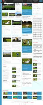 Live Ball Game Online Live Platform News Html5 Template Free