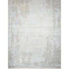 rhett gray blue elegant rug