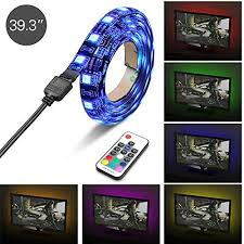 gameroom lighting. Topist USB TV LED Light, RGB 5050 60 LEDs Neon Accent Lighting System Kit, Flexible Adhesive Tape Multi-Color Changing Light With RF Wireless Remote For Gameroom N