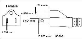 international standards reference chart usa grounded nema 5 15 3 pin 15 amp