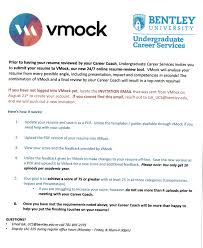 Vmock The Fastest And Easiest Way To Get Your Resume