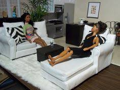homemade barbie furniture ideas. Homemade Barbie Furniture | : The White Sectional - For And Ideas