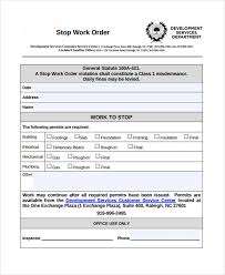 Service Work Order Form Template Work Order Templates 10 Free Word