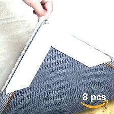 rug gripper tape rug gripper non slip pad 8 for area rugs anti curling double sided